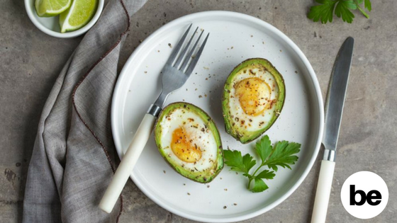 Healthy Mornings: Baked Eggs & Avocados